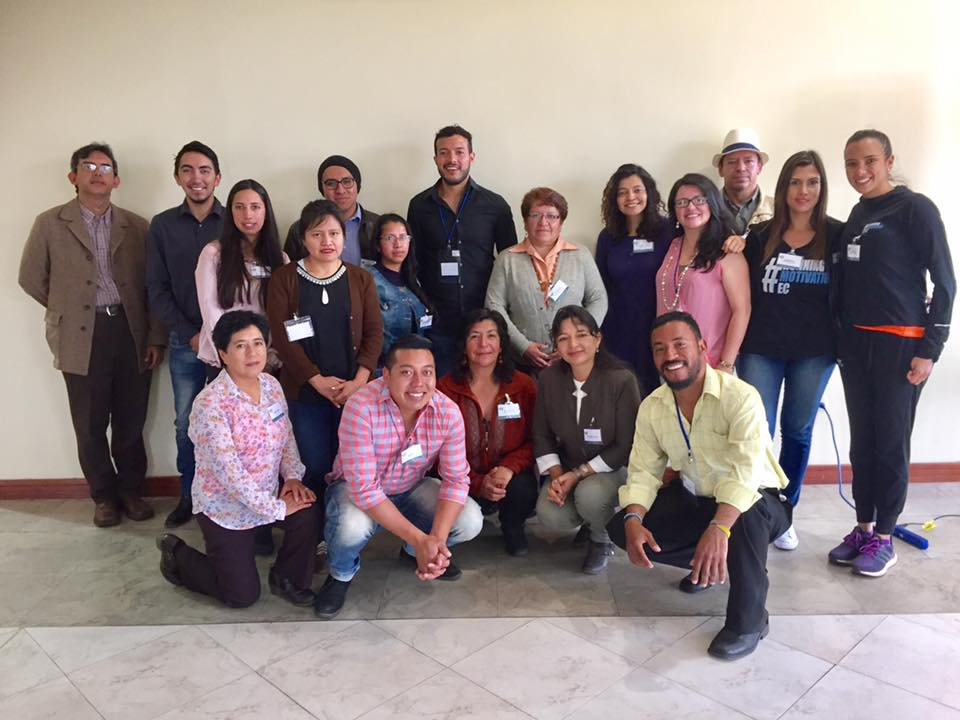 Ecuadorian nonprofit and business leaders come together for a day of education and collaboration focused on communication and marketing.